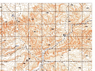 Reduced fragment of topographic map ru--gs--050k--i41-031-1--N035-20_E063-00--N035-10_E063-15