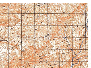 Reduced fragment of topographic map ru--gs--050k--i41-032-1--N035-20_E063-30--N035-10_E063-45