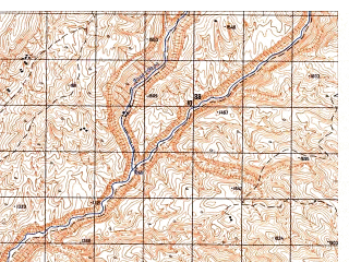 Reduced fragment of topographic map ru--gs--050k--i41-032-2--N035-20_E063-45--N035-10_E064-00