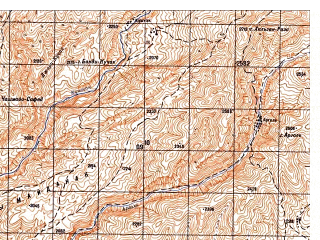 Reduced fragment of topographic map ru--gs--050k--i41-033-1--N035-20_E064-00--N035-10_E064-15