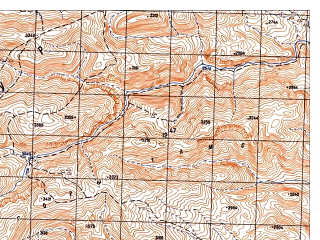 Reduced fragment of topographic map ru--gs--050k--i41-036-1--N035-20_E065-30--N035-10_E065-45