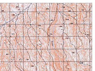 Reduced fragment of topographic map ru--gs--050k--i41-042-1--N035-00_E062-30--N034-50_E062-45