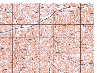 Reduced fragment of topographic map ru--gs--050k--i41-042-2--N035-00_E062-45--N034-50_E063-00