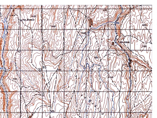 Reduced fragment of topographic map ru--gs--050k--i41-042-4--N034-50_E062-45--N034-40_E063-00