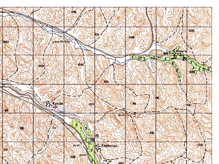 Reduced fragment of topographic map ru--gs--050k--i41-043-1--N035-00_E063-00--N034-50_E063-15
