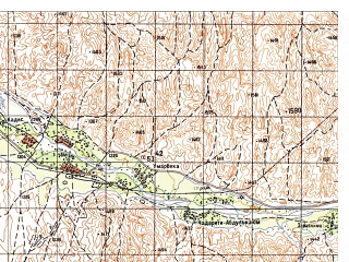Reduced fragment of topographic map ru--gs--050k--i41-043-4--N034-50_E063-15--N034-40_E063-30