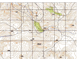 Reduced fragment of topographic map ru--gs--050k--i41-054-2--N034-40_E062-45--N034-30_E063-00