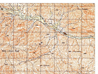 Reduced fragment of topographic map ru--gs--050k--i41-055-3--N034-30_E063-00--N034-20_E063-15