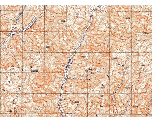 Reduced fragment of topographic map ru--gs--050k--i41-055-4--N034-30_E063-15--N034-20_E063-30