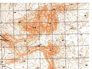 Reduced fragment of topographic map ru--gs--050k--i41-062-2--N034-20_E060-45--N034-10_E061-00