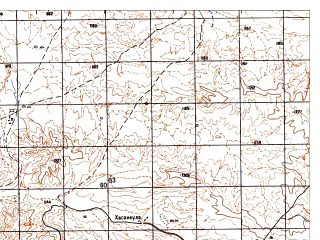 Reduced fragment of topographic map ru--gs--050k--i41-076-2--N034-00_E061-45--N033-50_E062-00