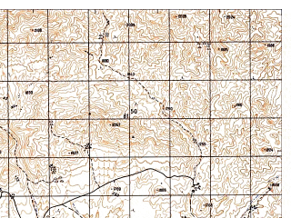 Reduced fragment of topographic map ru--gs--050k--i41-077-2--N034-00_E062-15--N033-50_E062-30