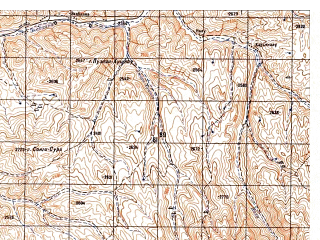 Reduced fragment of topographic map ru--gs--050k--i41-080-2--N034-00_E063-45--N033-50_E064-00