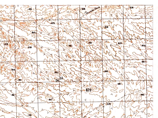 Reduced fragment of topographic map ru--gs--050k--i41-087-3--N033-30_E061-00--N033-20_E061-15