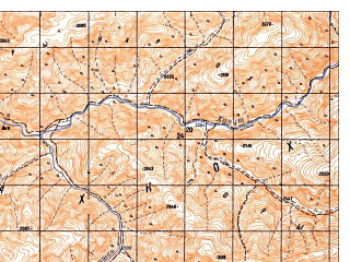 Reduced fragment of topographic map ru--gs--050k--i41-091-1--N033-40_E063-00--N033-30_E063-15