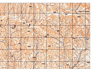 Reduced fragment of topographic map ru--gs--050k--i41-091-2--N033-40_E063-15--N033-30_E063-30