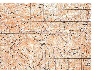 Reduced fragment of topographic map ru--gs--050k--i41-092-3--N033-30_E063-30--N033-20_E063-45