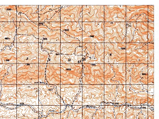 Reduced fragment of topographic map ru--gs--050k--i41-103-1--N033-20_E063-00--N033-10_E063-15