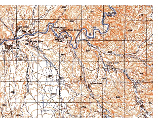 Reduced fragment of topographic map ru--gs--050k--i41-104-4--N033-10_E063-45--N033-00_E064-00
