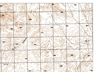 Reduced fragment of topographic map ru--gs--050k--i41-110-2--N033-00_E060-45--N032-50_E061-00