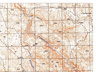 Reduced fragment of topographic map ru--gs--050k--i42-004-1--N036-00_E067-30--N035-50_E067-45
