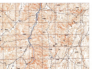 Reduced fragment of topographic map ru--gs--050k--i42-004-4--N035-50_E067-45--N035-40_E068-00