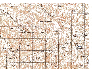 Reduced fragment of topographic map ru--gs--050k--i42-005-1--N036-00_E068-00--N035-50_E068-15