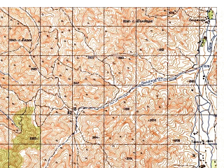 Reduced fragment of topographic map ru--gs--050k--i42-007-1--N036-00_E069-00--N035-50_E069-15