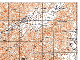 Reduced fragment of topographic map ru--gs--050k--i42-007-2--N036-00_E069-15--N035-50_E069-30