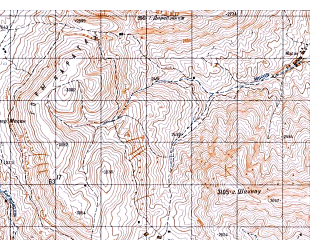 Reduced fragment of topographic map ru--gs--050k--i42-007-3--N035-50_E069-00--N035-40_E069-15