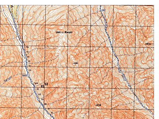 Reduced fragment of topographic map ru--gs--050k--i42-010-1--N036-00_E070-30--N035-50_E070-45