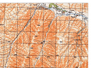 Reduced fragment of topographic map ru--gs--050k--i42-011-2--N036-00_E071-15--N035-50_E071-30