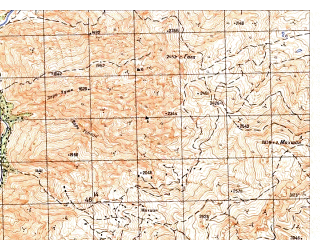 Reduced fragment of topographic map ru--gs--050k--i42-014-2--N035-40_E066-45--N035-30_E067-00
