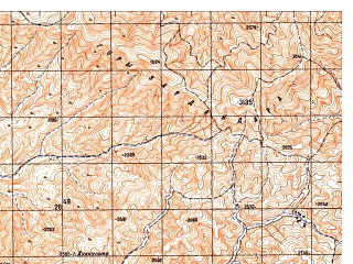 Reduced fragment of topographic map ru--gs--050k--i42-017-4--N035-30_E068-15--N035-20_E068-30