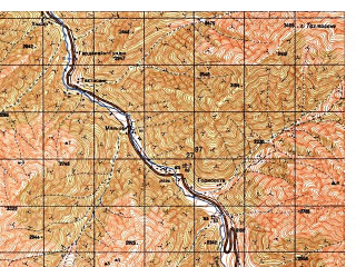 Reduced fragment of topographic map ru--gs--050k--i42-018-4--N035-30_E068-45--N035-20_E069-00