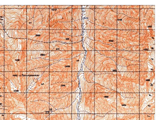 Reduced fragment of topographic map ru--gs--050k--i42-019-3--N035-30_E069-00--N035-20_E069-15