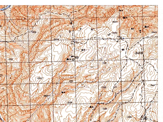 Reduced fragment of topographic map ru--gs--050k--i42-025-2--N035-20_E066-15--N035-10_E066-30