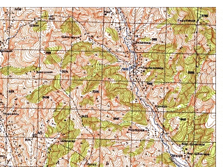 Reduced fragment of topographic map ru--gs--050k--i42-036-3--N035-10_E071-30--N035-00_E071-45
