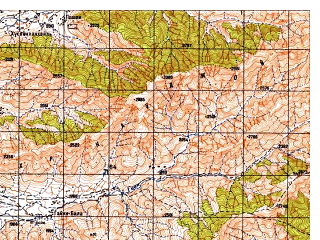 Reduced fragment of topographic map ru--gs--050k--i42-044-1--N035-00_E069-30--N034-50_E069-45