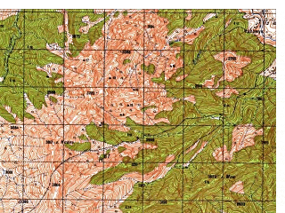 Reduced fragment of topographic map ru--gs--050k--i42-044-2--N035-00_E069-45--N034-50_E070-00