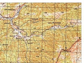 Reduced fragment of topographic map ru--gs--050k--i42-047-2--N035-00_E071-15--N034-50_E071-30