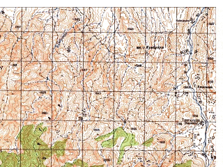 Reduced fragment of topographic map ru--gs--050k--i42-069-3--N034-10_E070-00--N034-00_E070-15