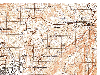 Reduced fragment of topographic map ru--gs--050k--i42-071-3--N034-10_E071-00--N034-00_E071-15