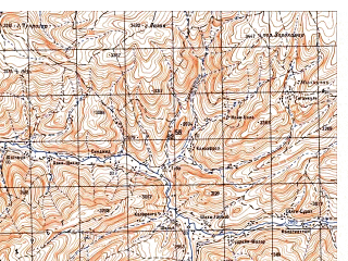 Reduced fragment of topographic map ru--gs--050k--i42-075-2--N034-00_E067-15--N033-50_E067-30