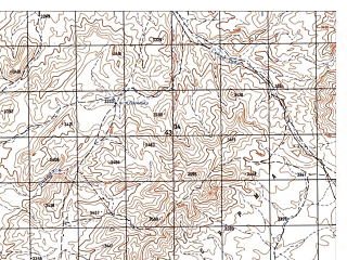 Reduced fragment of topographic map ru--gs--050k--i42-076-4--N033-50_E067-45--N033-40_E068-00