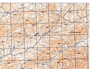 Reduced fragment of topographic map ru--gs--050k--i42-097-2--N033-20_E066-15--N033-10_E066-30