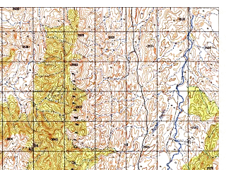 Reduced fragment of topographic map ru--gs--050k--i42-114-2--N033-00_E068-45--N032-50_E069-00