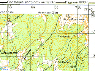 Reduced fragment of topographic map ru--gs--050k--j34-104-1--N037-20_E021-30--N037-10_E021-45
