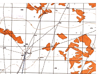 Reduced fragment of topographic map ru--gs--050k--j41-107-3--N037-10_E065-00--N037-00_E065-15