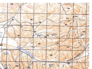 Reduced fragment of topographic map ru--gs--050k--j41-130-4--N036-30_E064-45--N036-20_E065-00